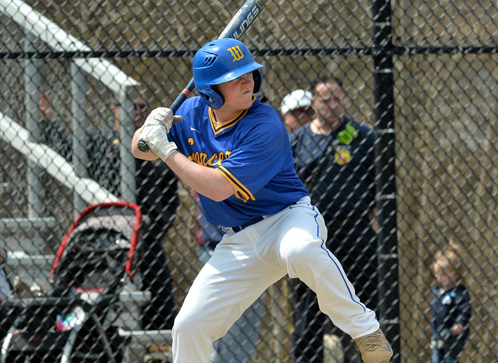 Baseball Records 19 Hits in 13-8 Win over Becker