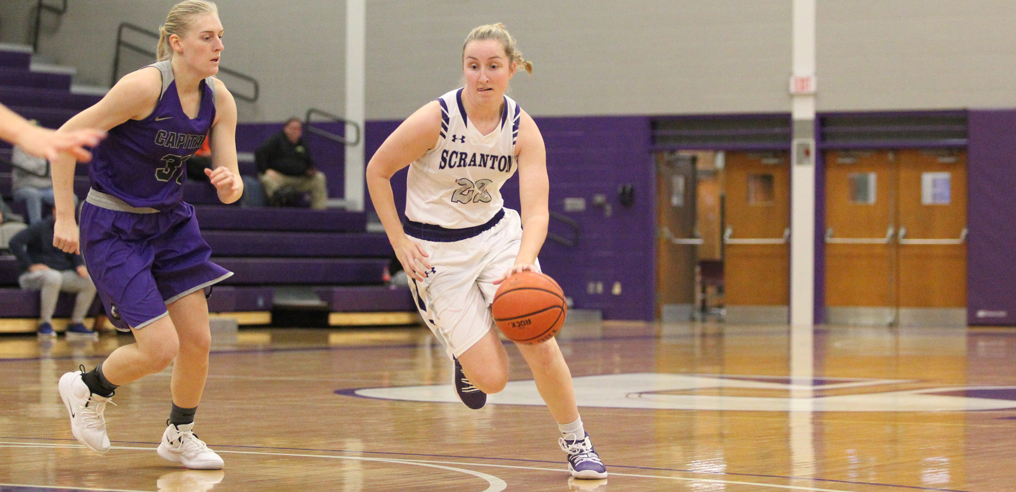 Junior Makenzie Mason was named the Landmark Conference's Athlete of the Week for women's basketball for the second time in her career on Monday.