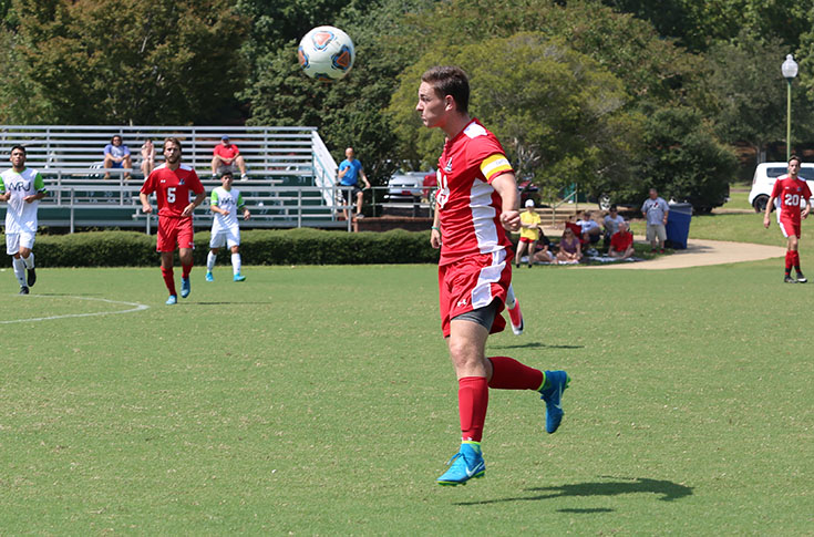 Men's Soccer: Panthers clinch USA South tournament berth with 1-0 win at Huntingdon