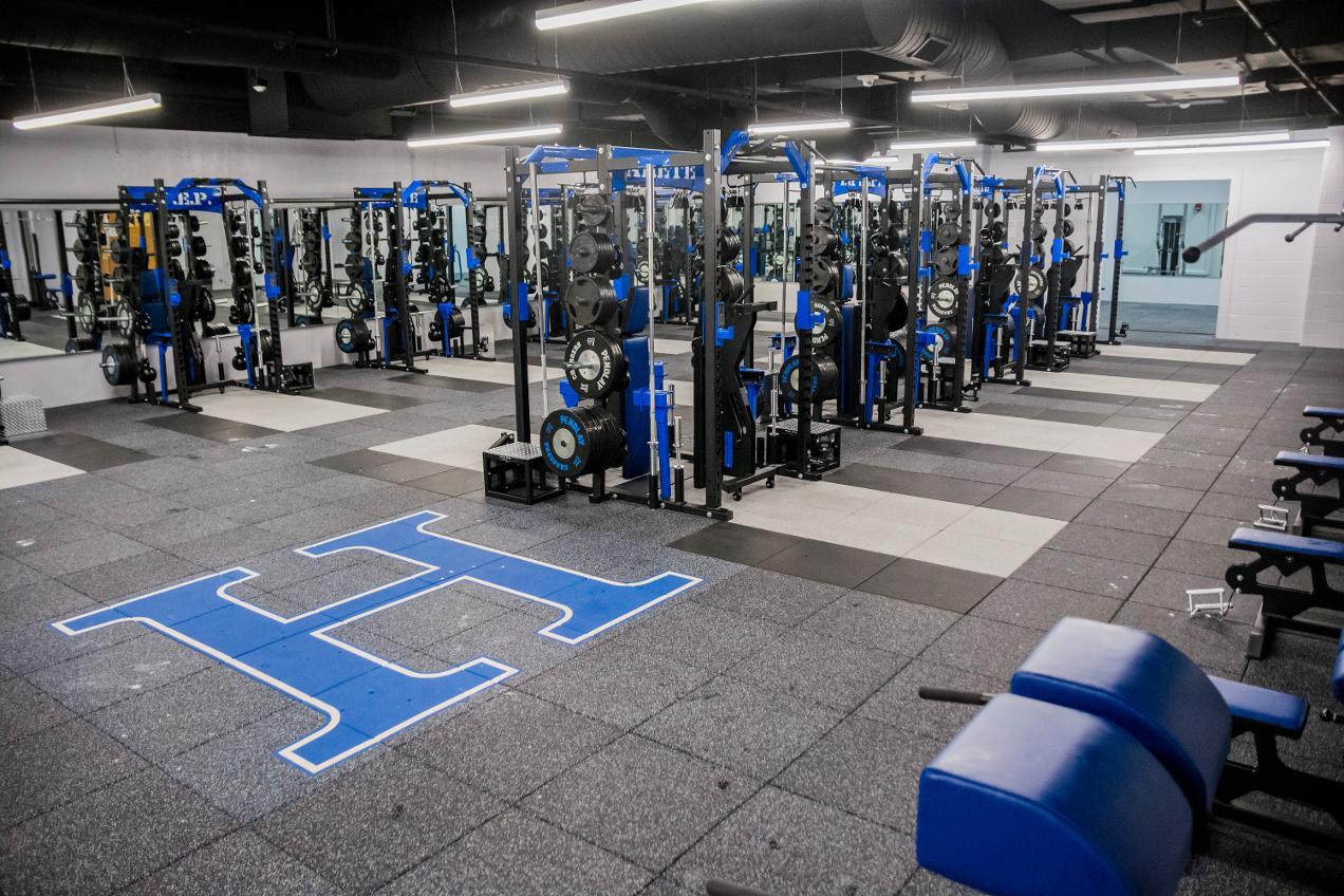 Jam Weight Room Hillsdale College Athletics