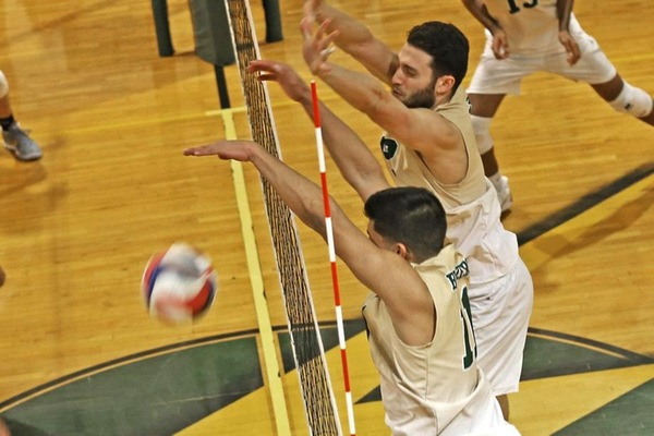 Blazers Overpower Lesley In Straight-Set Win