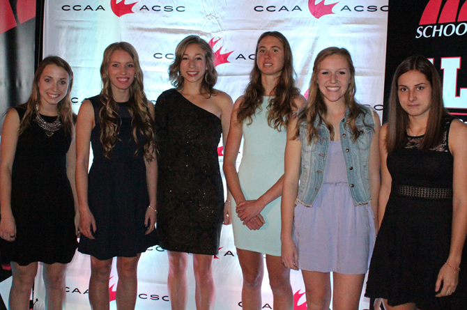 Athlètes par excellence pan-canadiennes 2015 de l'ACSC en course cross-country féminin