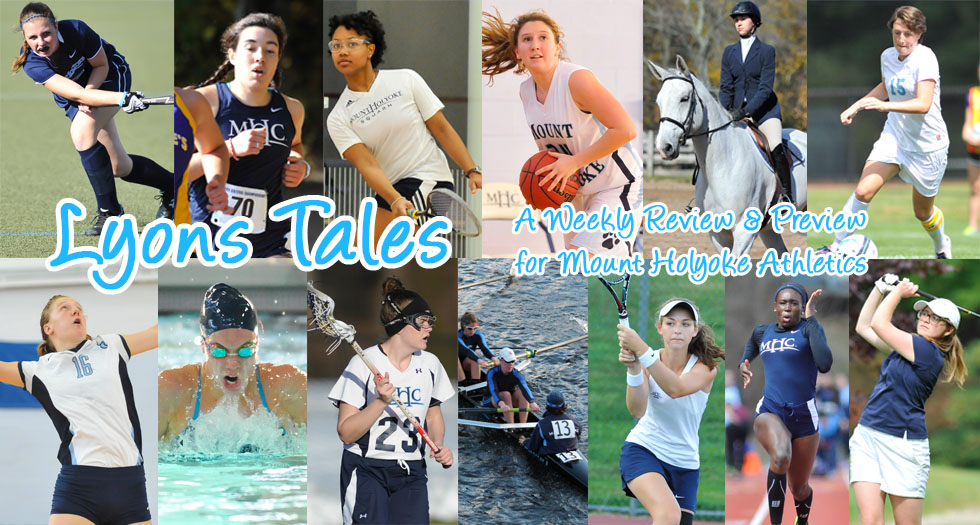 Lyons Tales: A Review & Preview of Mount Holyoke Athletics for Feb. 8th
