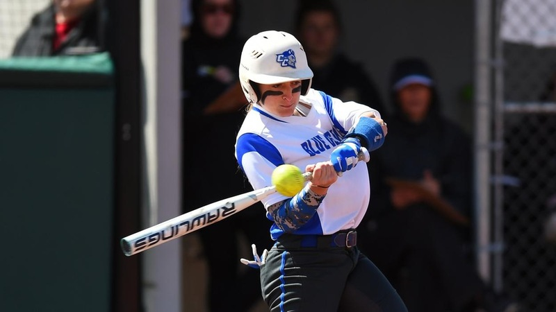 Softball Slowed At Albany on Wednesday