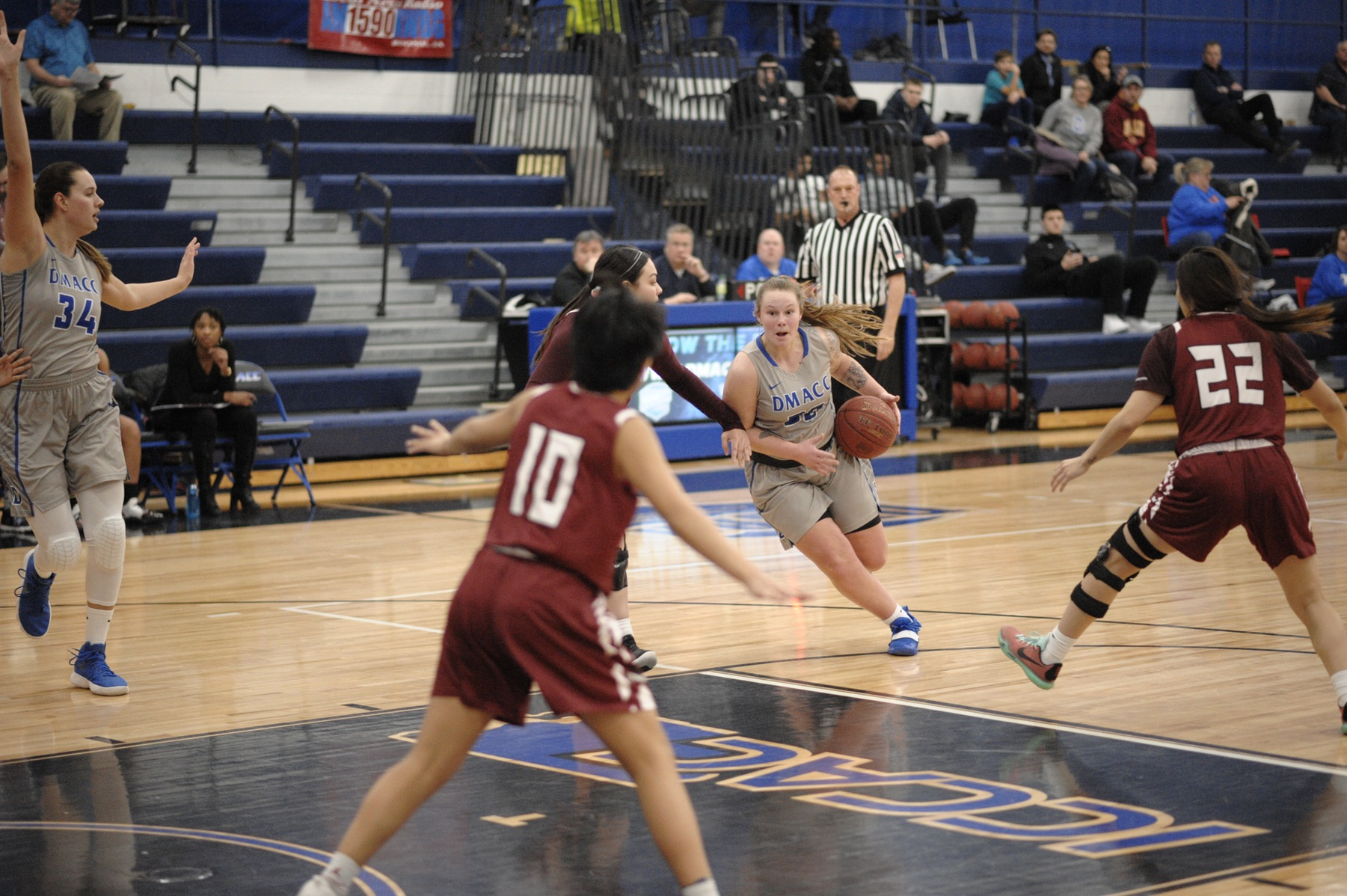 Robinson leads DMACC women's basketball team past LPT, 96-72