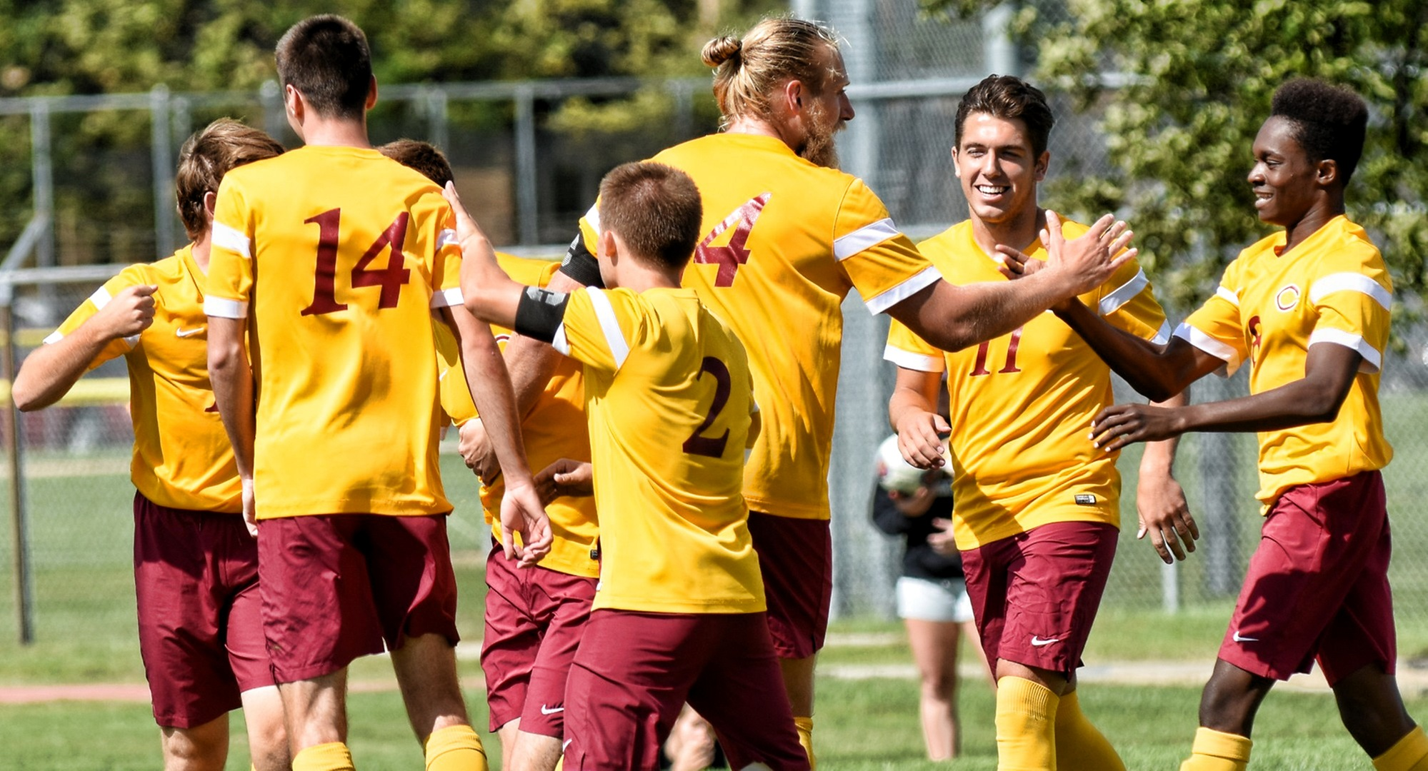 Concordia earned its second win of the weekend with a 2-1 2OT victory over St. John's.