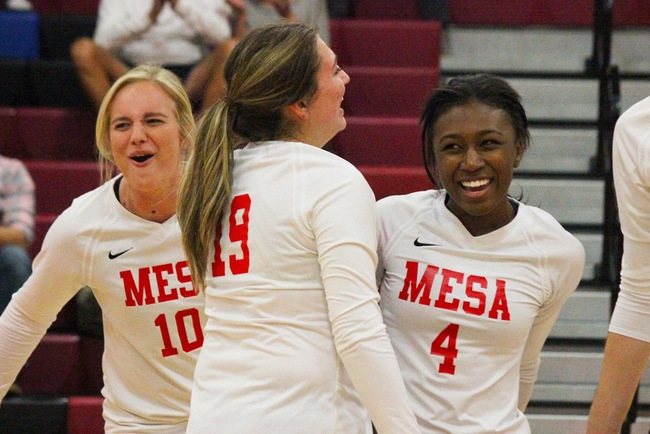 Five Set Thriller Ends With #16 Mesa Topping #9 Glendale