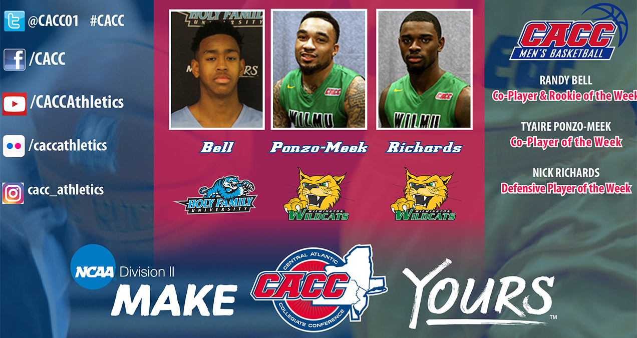 CACC Men's Basketball Weekly Report #8 (Jan. 9, 2017)