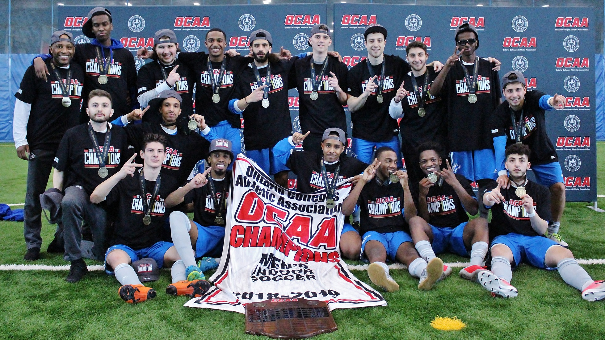 GEORGE BROWN COLLEGE WINS 2019 OCAA MEN'S INDOOR SOCCER CHAMPIONSHIPS