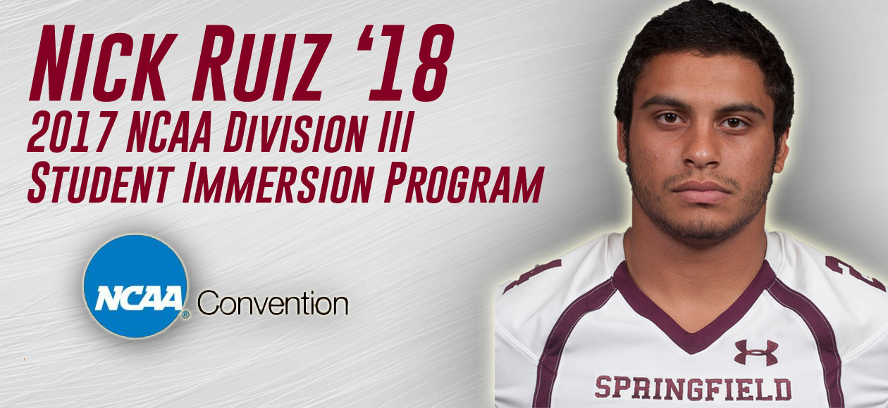 Ruiz Headed To NCAA Convention As Part of Division III Student Immersion Program