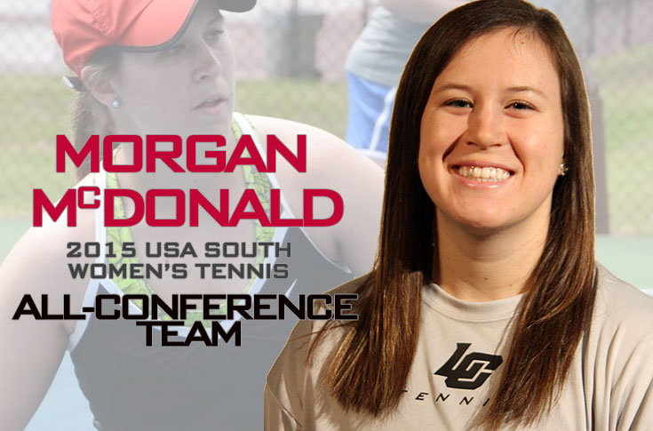 Women's Tennis: McDonald selected to 2015 USA South All-Conference team