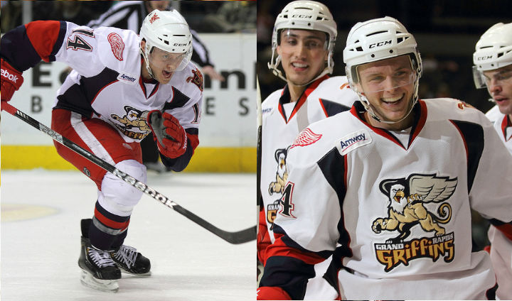 Former Bulldog Captain Chad Billins Registers Historic Hat Trick For Grand Rapids Griffins