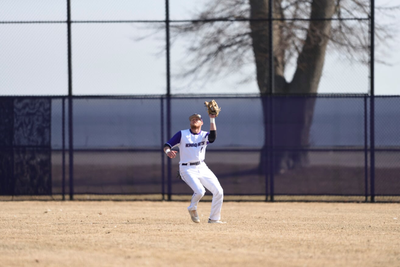 Purple Knights Fall In 2019 ECC Baseball Opener To St. Thomas Aquinas, 8-5