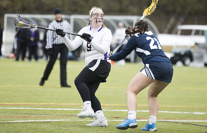 Women's lacrosse sticks with No. 12 New Haven before falling 12-7