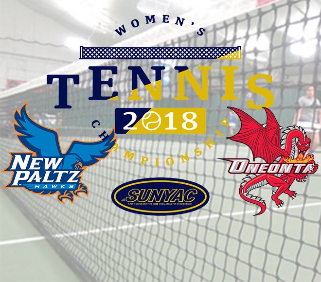 New Paltz and Oneonta to face off in SUNYAC women's tennis final