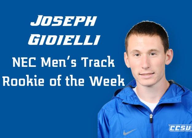 Gioielli Earns Track Rookie Honor