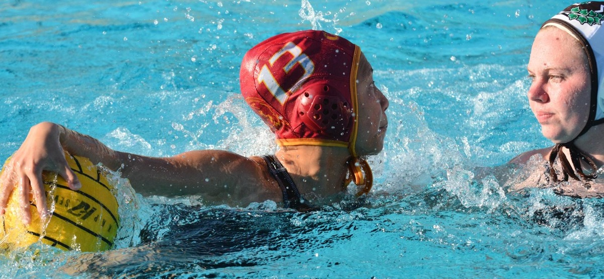 Senior Kaitlyn Eng had a hat trick in the Athenas' 17-6 road win over Caltech