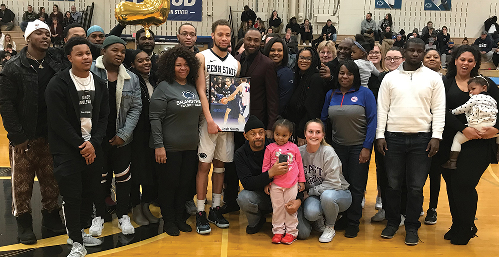 2019 Men's Basketball Senior Night