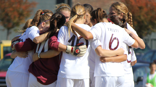 Trinity & Centre Post NCAA Women's Soccer First Round Wins