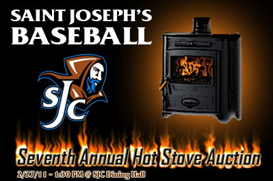 St. Joe's Baseball Hot Stove Coming Up this Sunday