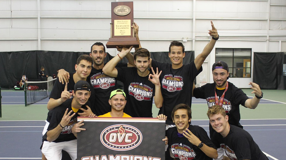 Golden Eagles crowned OVC Tournament champs with 4-0 win over Eastern Kentucky