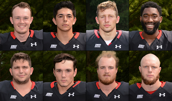 Eight Foresters Named First Team All-MWC South, Four Second Team