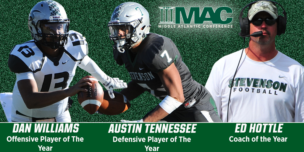 Football Collects Three Major Awards, 17 All-Conference Selections