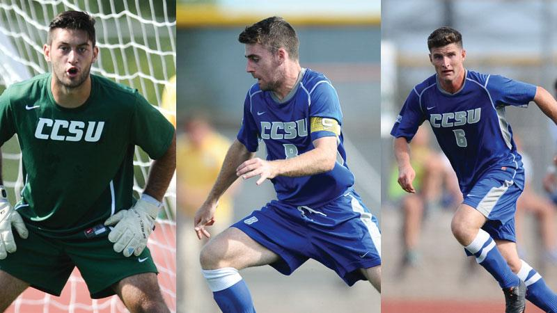 Three Blue Devils Honored by NSCAA
