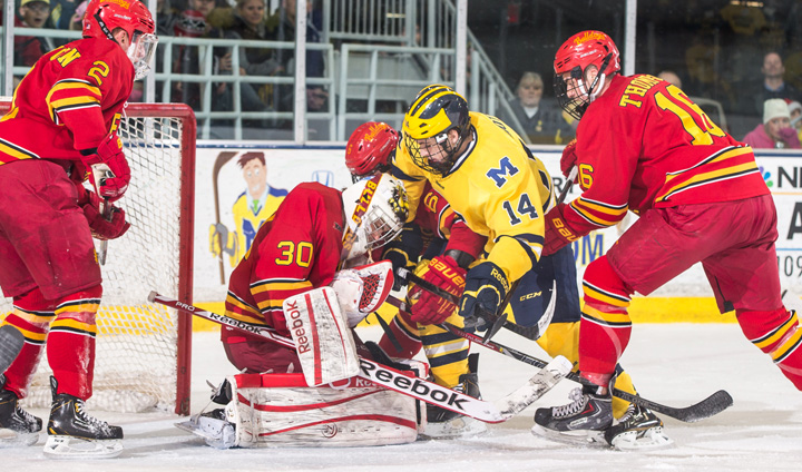Ferris State & Michigan Battle To Thrilling Overtime Tie In Top 10 Matchup