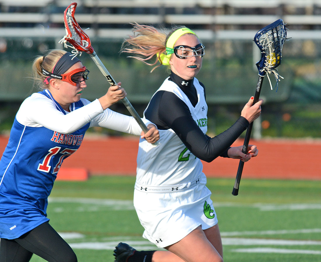 Franklin's offense too much for @DubC_WLax