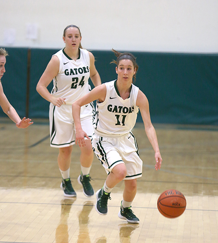 Gators open Skyline play with convincing 57-34 win over MSMC