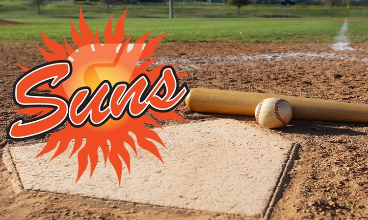Suns Baseball go 2-1 in Opening Week of Season