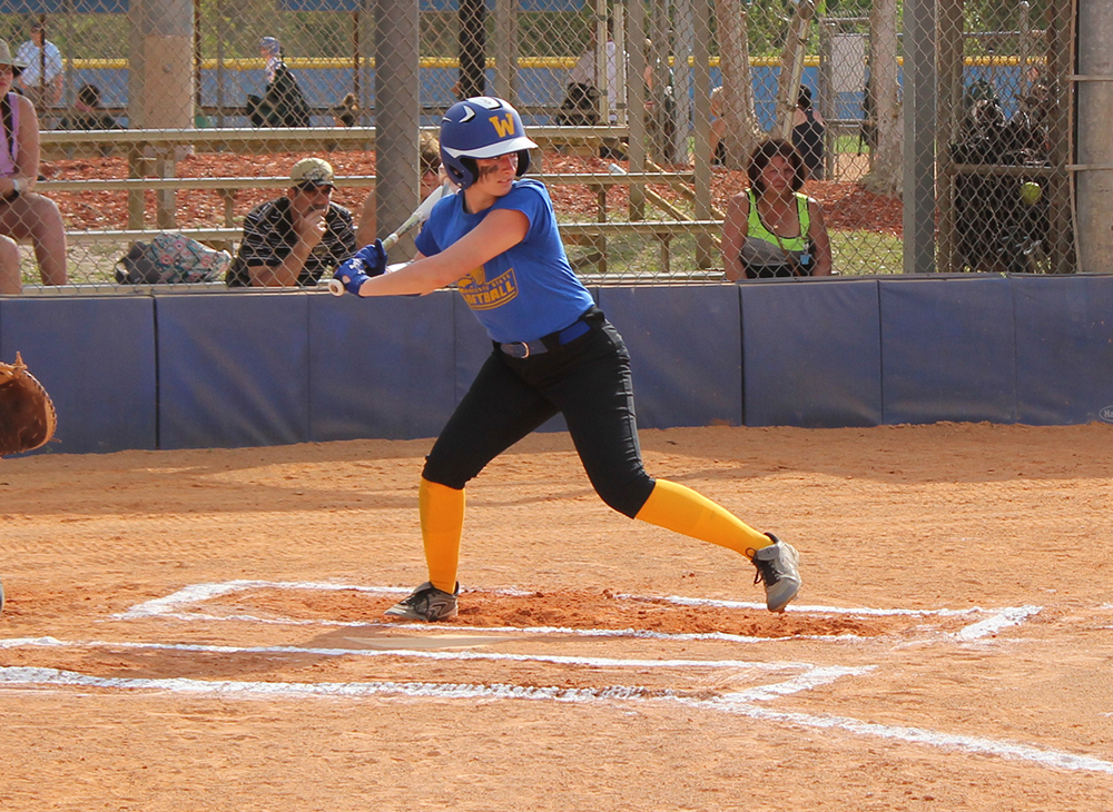 Offense Stymied as Softball Falls Twice in Florida
