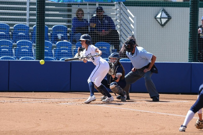 File Photo: Tena Spoolstra bunted three times for hits in the Falcons win
