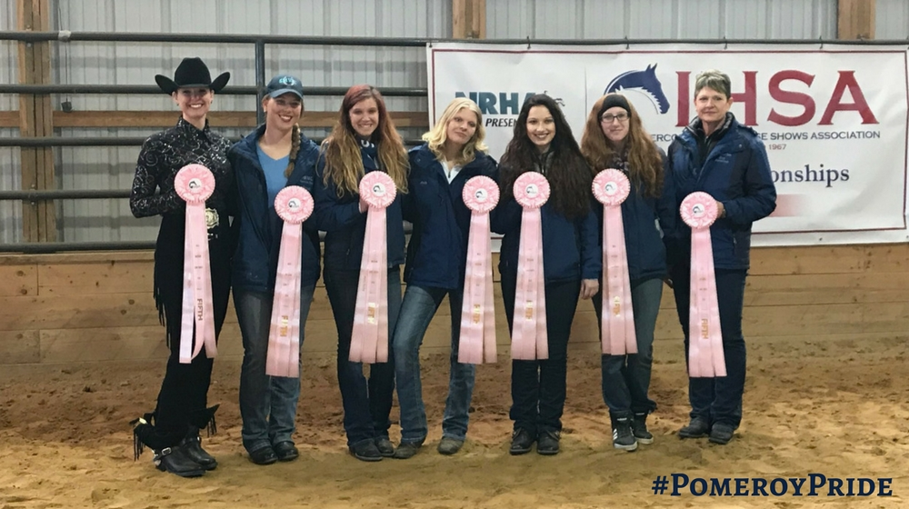 The SMWC Western Equestrian finished 5th place at the IHSA Nationals in Reedsville, West Virginia!
