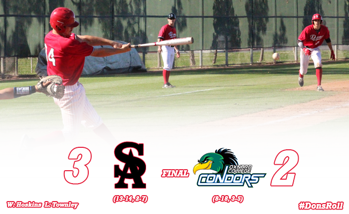Massey's Clutch Single Wins it for the Dons