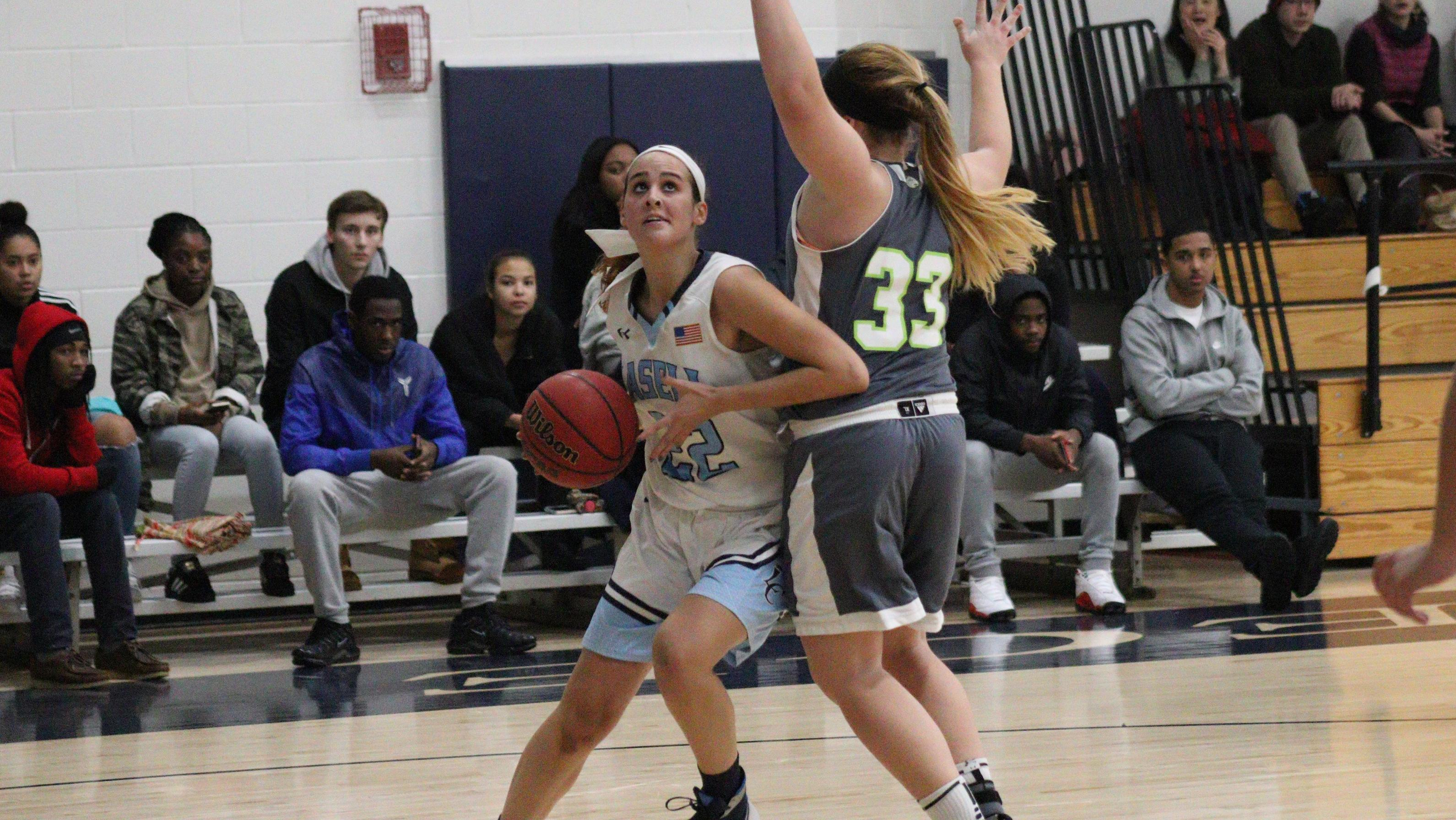 Centre shuts down Lasell Women's Basketball