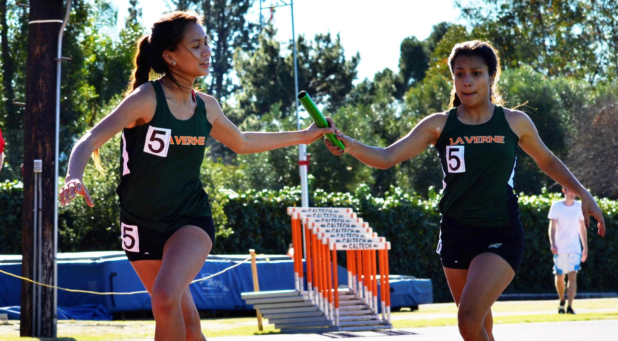Track and Field competes at Rossi Relays