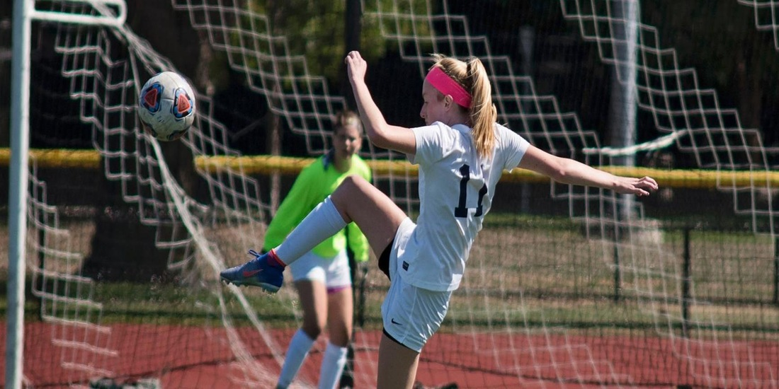 Women's Soccer Upended at Lesley