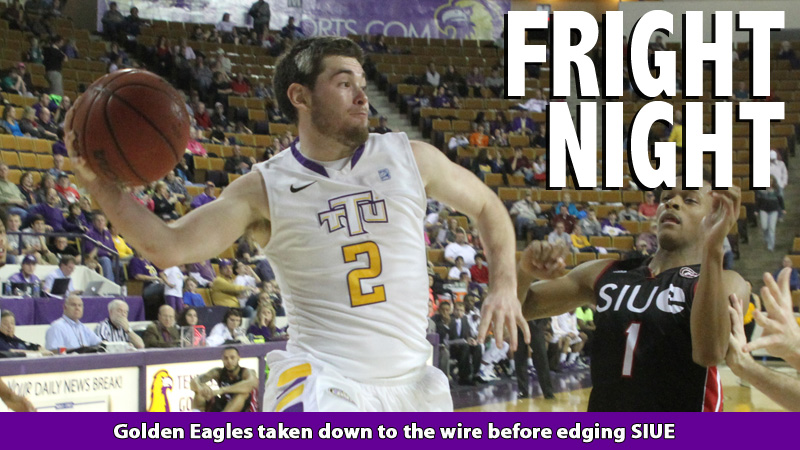 Golden Eagles deny comeback effort by SIUE; Tech wins by one