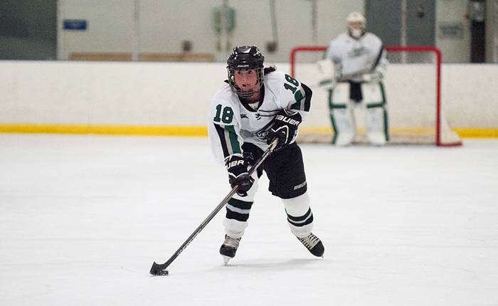 Blackburn Nets Hat-Trick, Mustangs Post School Record Eight Goals in CHC Opener