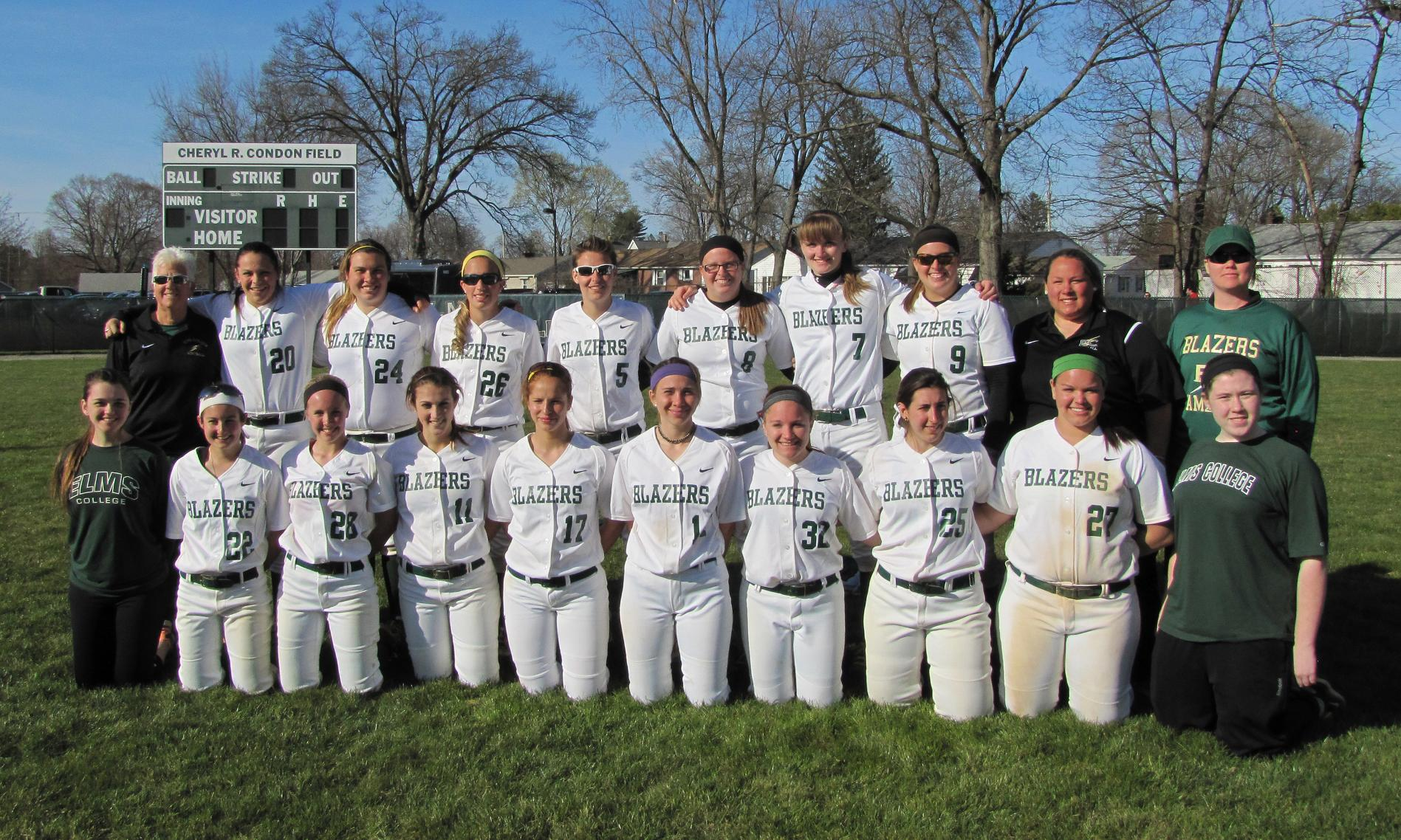 Softball Falls to Newbury In NECC Tournament Opener