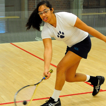 #17 Squash Falls at #10 Williams