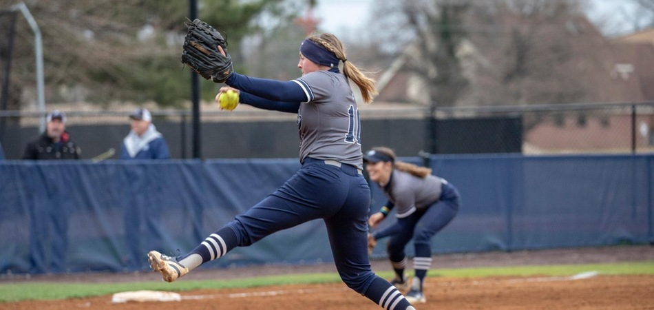 Hall's No-Hitter Highlights Sweep of Guilford