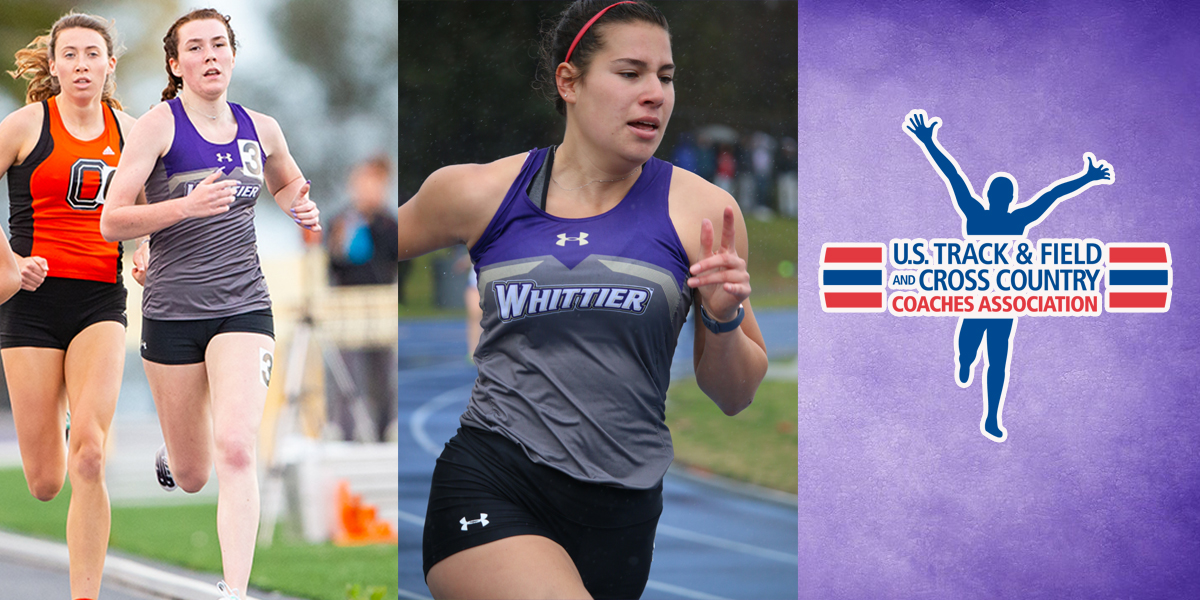 Elizabeth Donnelly and Gabriella Torres Joubert named USTFCCCA All-Academic