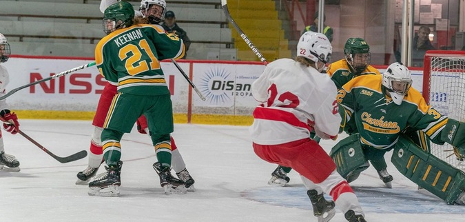 Cornell hands No. 3 Clarkson second straight loss
