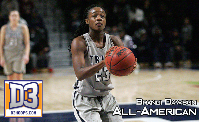 Dawson Selected First-Team D3hoops.com All-American
