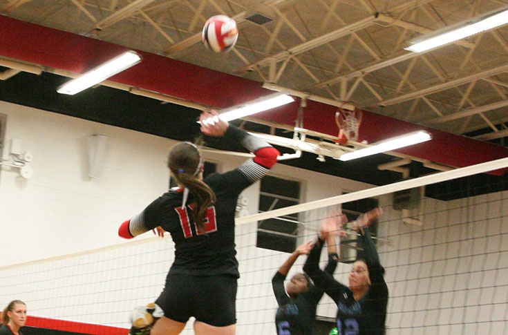 Volleyball: Panthers sweep visiting Talladega in non-conference match