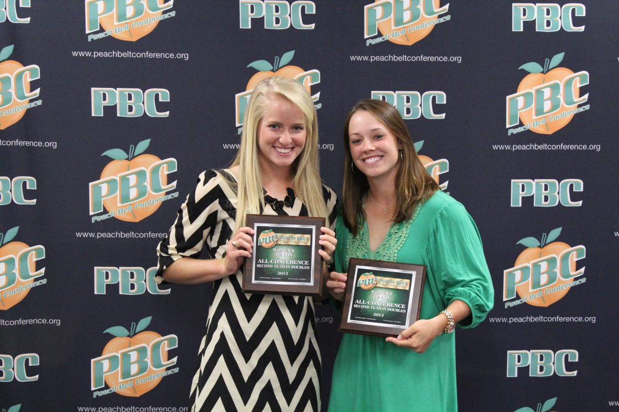 GC's Krupp, Barksdale Slotted All-Peach Belt Conference