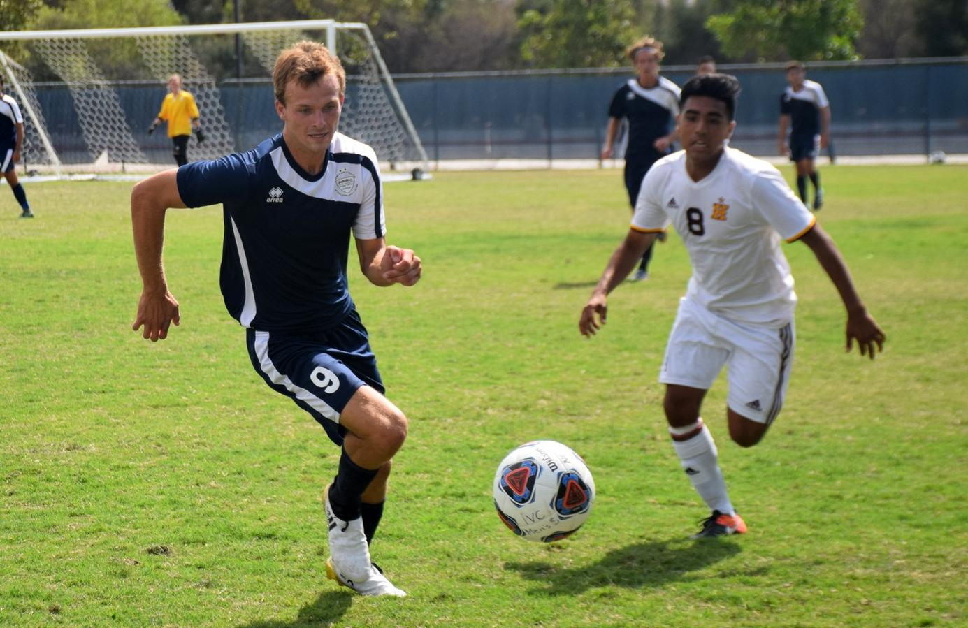 Men's soccer team finishes week strong, shuts out Hartnell